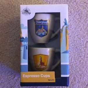 Disney Espresso Cups